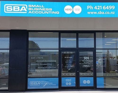 SBA Burnside shop front - Small Business Accounting Burnside